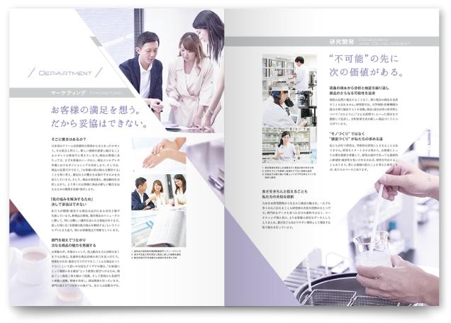 マーケティング・研究開発のページ