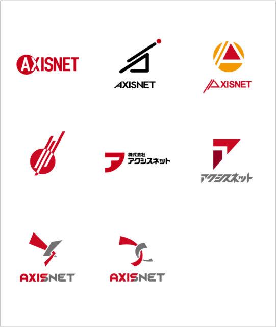 ロゴデザインのラインナップ8案