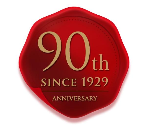 三井化学東セロ株式会社様の創業90年記念ロゴ制作