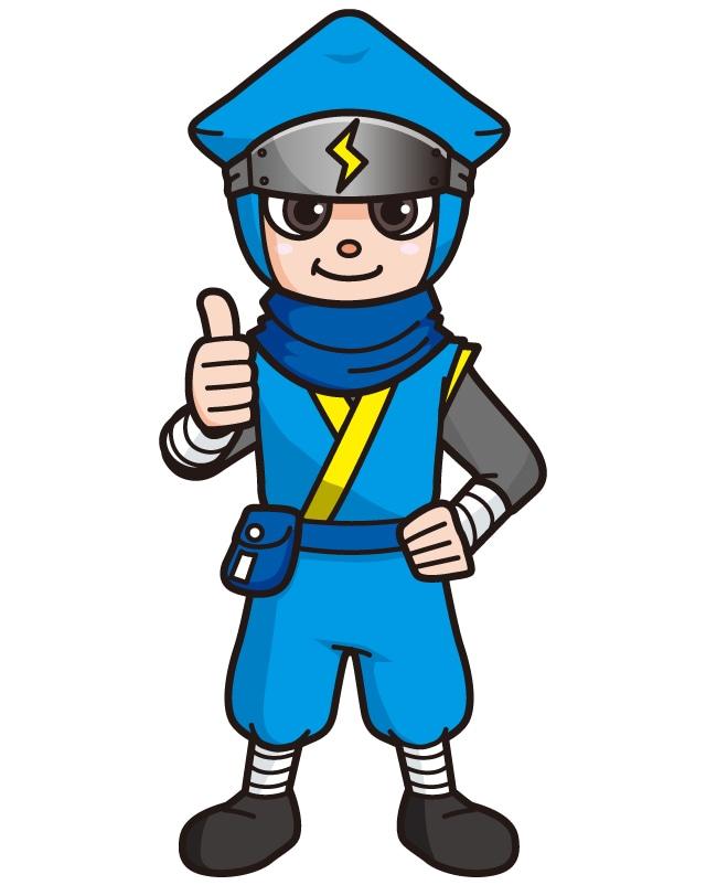 株式会社井上 様 コーポレートキャラクター「伝説の電設マン」
