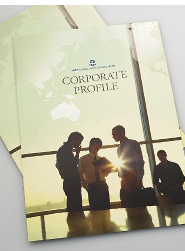 会社案内表紙デザインイメージ