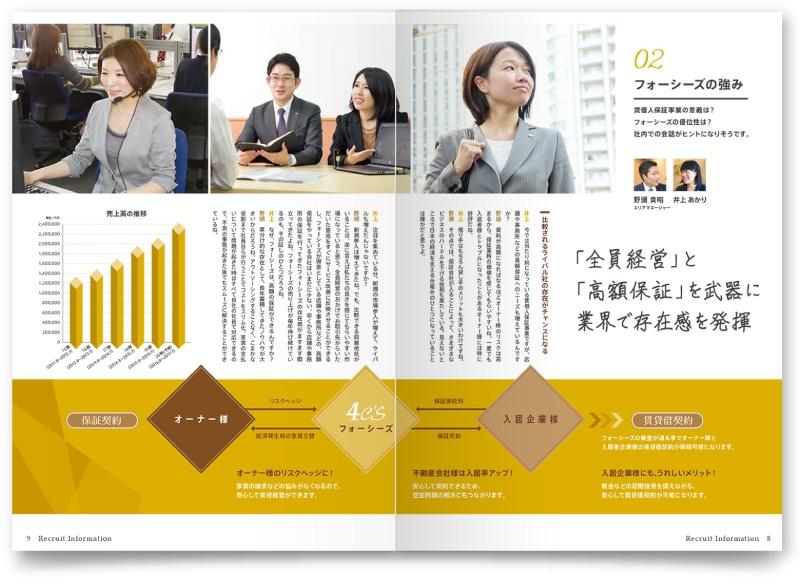 座談会の各ページデザイン