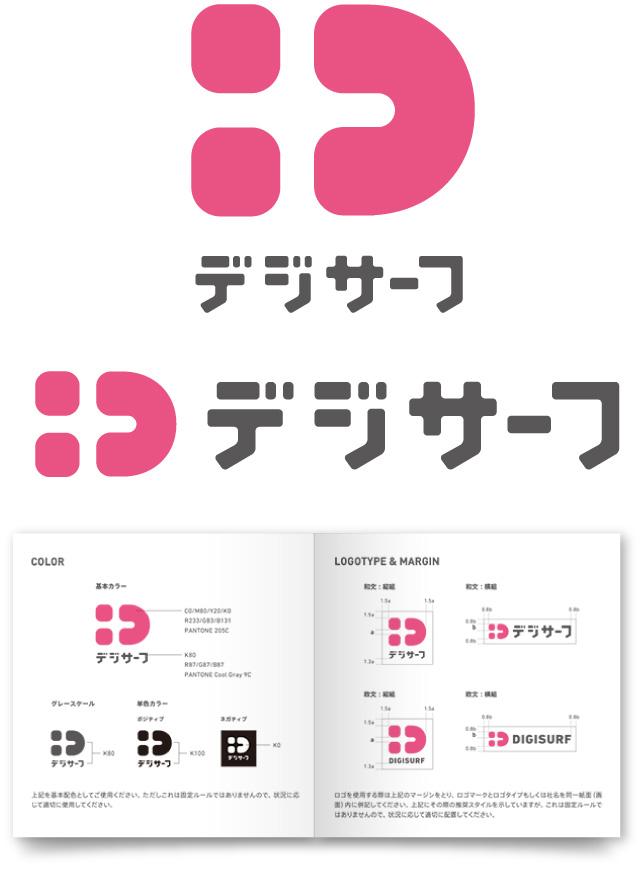 ロゴデザインのVIマニュアル