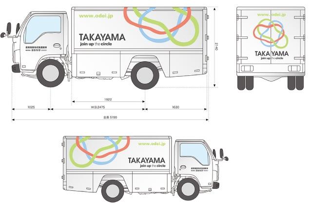作業車両・営業車デザイン