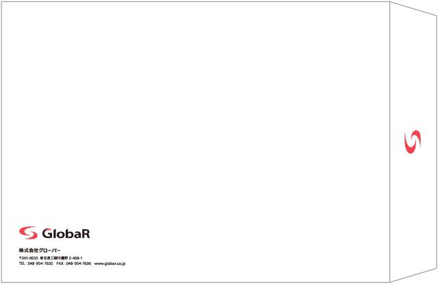 封筒・名刺デザイン