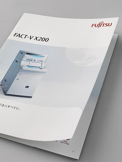 同、CD機器製品パンフレットの表紙デザイン