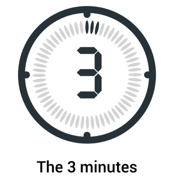 動画の尺は3分程度が最適