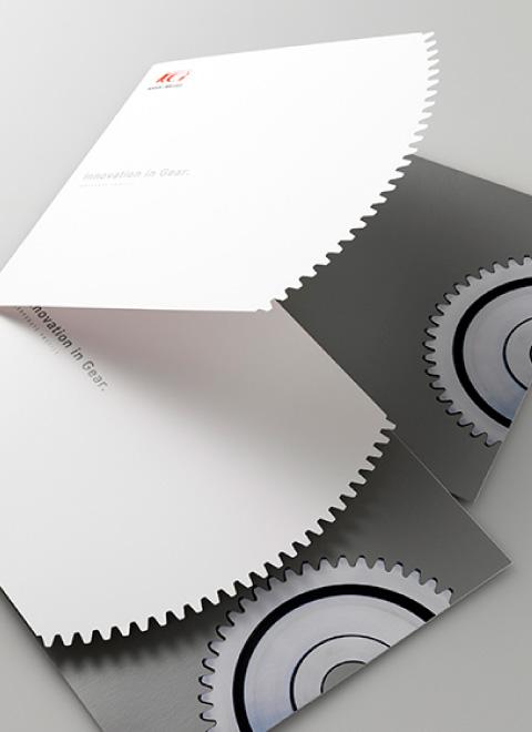 企業パンフレット ブランディングデザイン
