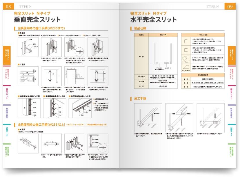 アクシス株式会社様・カタログ作成サンプル