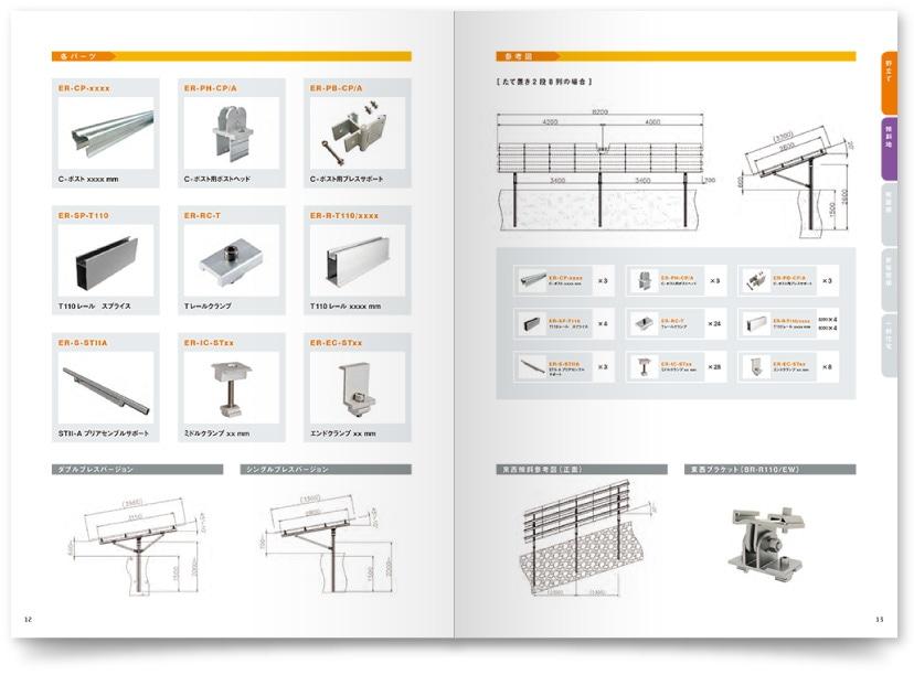 外資系企業 製品カタログデザイン