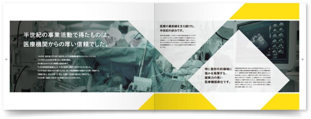 株式会社西野医科器械様・会社案内