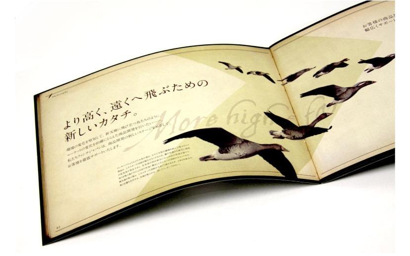 経営コンサル企業・会社案内パンフレット