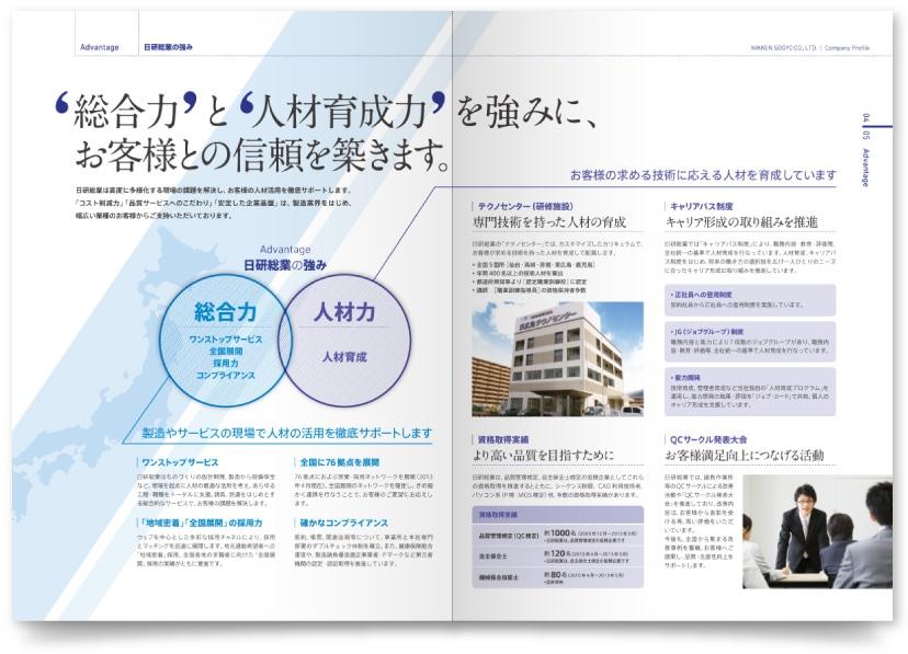 日研総業株式会社様・会社案内