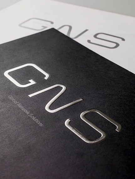 会社案内の表紙デザイン