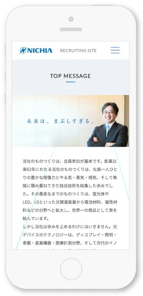 日亜化学工業株式会社様・Webサイト
