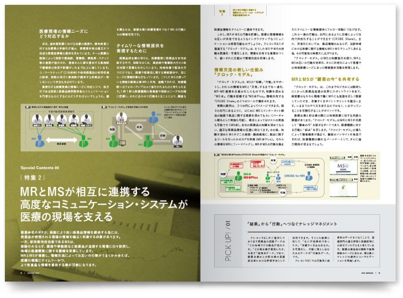 医療コンサルティング企業の広報パンフレット制作