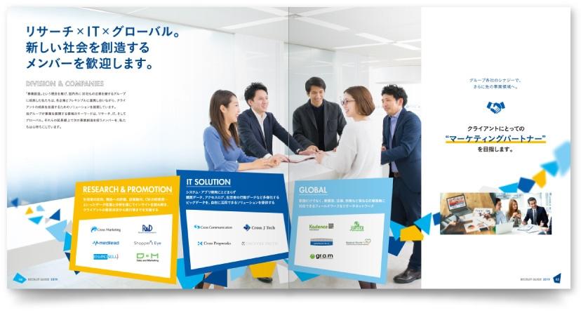 株式会社クロス・マーケティンググループ様 パンフレット