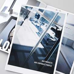 リブランディングカタログ インテリア家具製造