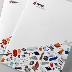 検査機器メーカー 企業パンフレット