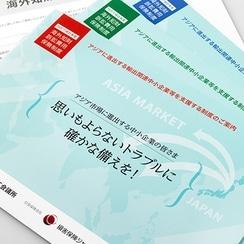 損害保険会社のパンフレット作成事例