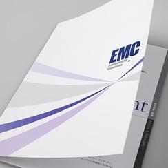 法人営業 会社パンフレット作成 半導体